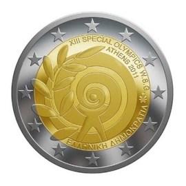 """Griekenland 2 Euro """"Special Olympics"""" 2011"""