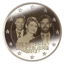 "Luxemburg 2 Euro ""Huwelijk"" 2012"