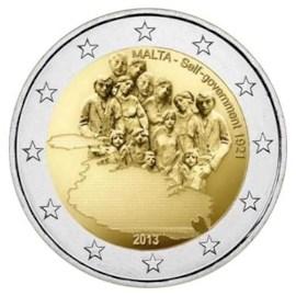 """Malta 2 Euro """"Zelfbestuur"""" 2013 UNC"""