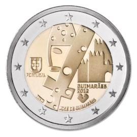 "Portugal 2 Euro ""Guimarães"" 2012 UNC"