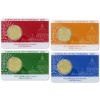 Vaticaan Coincard + Postzegel Set 2018