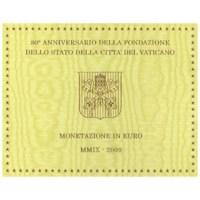 Vaticaan BU Set 2009