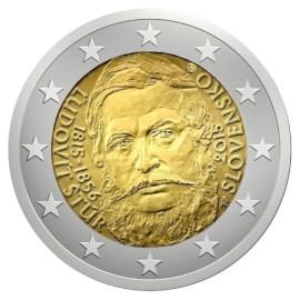 "Slowakije 2 Euro ""Ludovít Štúr"" 2015"