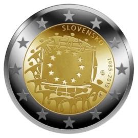 """Slowakije 2 Euro """"Europese Vlag"""" 2015"""