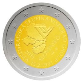 "Slowakije 2 Euro ""Visegrad"" 2011"