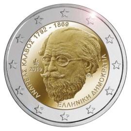 """Griekenland 2 Euro """"Kalvos"""" 2019"""