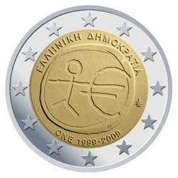 """Griekenland 2 Euro """"10 Jaar EMU"""" 2009"""