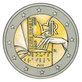 "Italië 2 Euro ""Braille"" 2009"