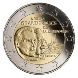 "Luxemburg 2 Euro ""Guillaume IV"" 2012"