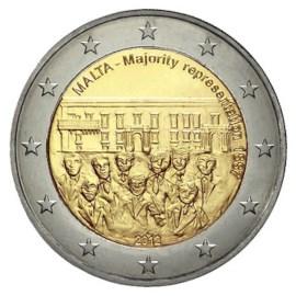 """Malta 2 Euro """"Stemrecht"""" 2012 UNC"""