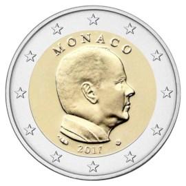 Monaco 2 Euro 2017 UNC