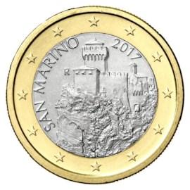 San Marino 1 Euro 2019 UNC