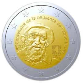 """Frankrijk 2 Euro """"Abbé Pierre"""" 2012"""