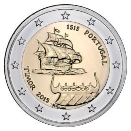 "Portugal 2 Euro ""Timor"" 2015"