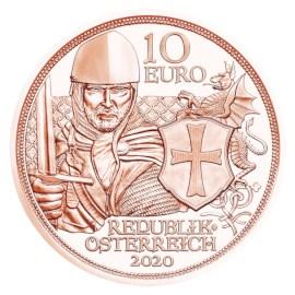 """Austria 10 Euro """"Bravery"""" 2020"""