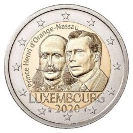 "Luxemburg 2 Euro ""Prins Hendrik"" 2020"