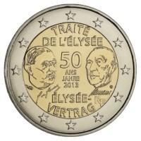 """Frankrijk 2 Euro """"Élysée"""" 2013 UNC"""