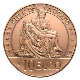 Vatican 10 euros « La Pietà » 2020