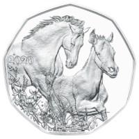 "Austria 5 Euro ""Friendship"" 2020 Silver BU"