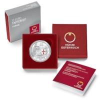 """Oostenrijk 10 Euro """"Dapperheid"""" 2020 Zilver Proof"""