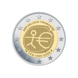 "Frankrijk 2 Euro ""10 Jaar EMU"" 2009"