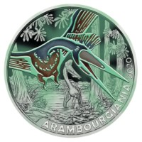 "Austria 3 Euro ""Arambourgiania"" 2020"