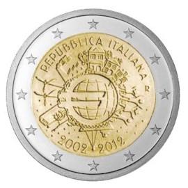 """Italië 2 Euro """"10 Jaar Euro"""" 2012"""