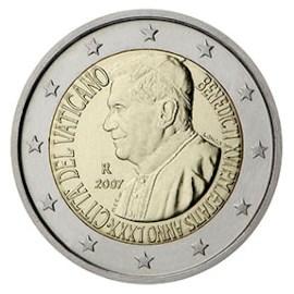 """Vaticaan 2 Euro """"Paus Benedictus"""" 2007"""
