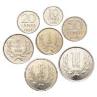 Armenië UNC Set 1994