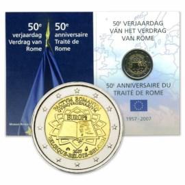 "België 2 Euro ""Verdrag van Rome"" 2007 FDC"