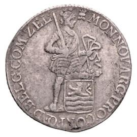 Zilveren Dukaat Zeeland 1780 Zfr