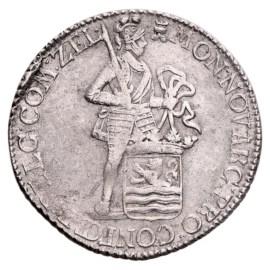 Zilveren Dukaat Zeeland 1781 Zfr
