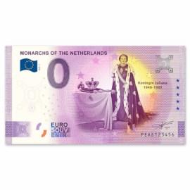 """0 Euro Biljet """"Juliana"""""""