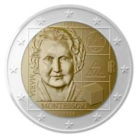 "Italië 2 Euro ""Montessori"" 2020 UNC"