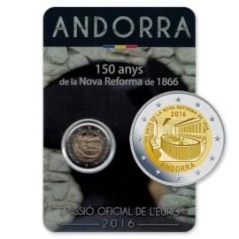 "Andorra 2 Euro ""Nova Reforma"" 2016"