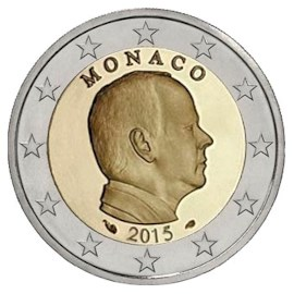 Monaco 2 Euro 2015 UNC