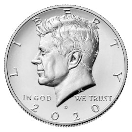 "US Half Dollar ""Kennedy"" 2020 D"