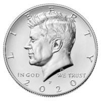 """US Half Dollar """"Kennedy"""" 2020 P"""