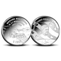 Woudagemaal 5 Euro Coin 2020 BU-quality in Coincard