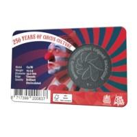 250 jaar circuscultuur penning in coincard