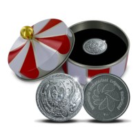 250 Years of Circus Culture Silver 1 Ounce