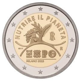 "Italië 2 Euro ""Expo"" 2015 UNC"
