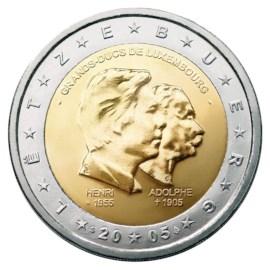 """Luxemburg 2 Euro """"Henri/Adolphe"""" 2005"""