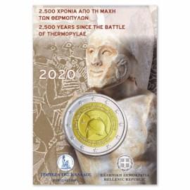 "Griekenland 2 Euro ""Thermopylae"" 2020 BU Coincard"