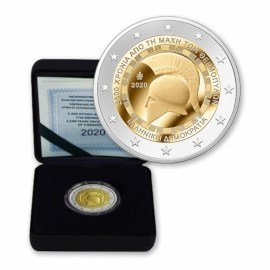 "Griekenland 2 Euro ""Thermopylae"" 2020 Proof"