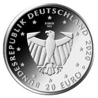 """Duitsland 20 Euro """"Freiburg"""" 2020"""