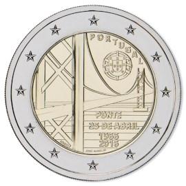 """Portugal 2 Euro """"25-April-Brug"""" 2016"""