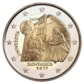 """Slowakije 2 Euro """"Istropolitana"""" 2017"""