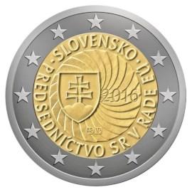"Slowakije 2 Euro ""EU-Voorzitter"" 2016"