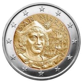 "San Marino 2 Euro ""Columbus"" 2006"